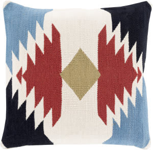 Surya Cotton Kilim Pillow Ck-001 Multi