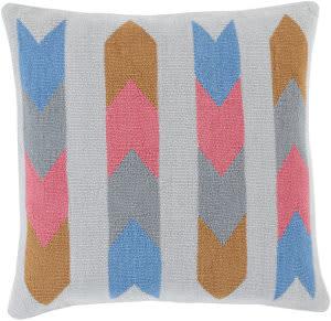 Surya Cotton Kilim Pillow Ck-010 Multi