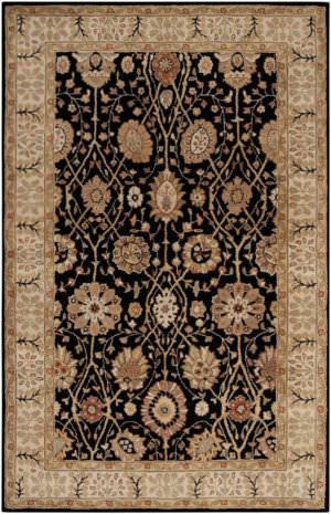 Surya Clifton CLF-1020 Jet Black Area Rug