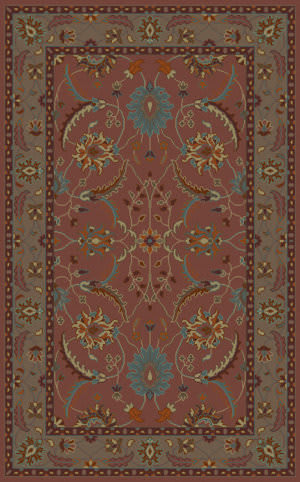 Surya Clifton CLF-1022 Rust Area Rug