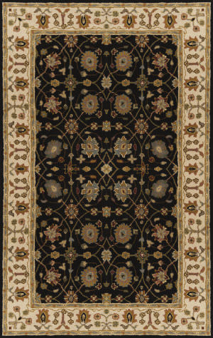 Surya Clifton CLF-1024 Black Area Rug