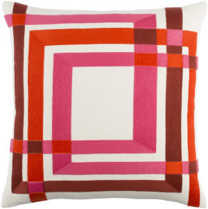 Surya Color Form Pillow Cm-004