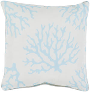 Surya Coral Pillow Co-002 Aqua