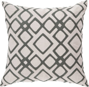 Surya Geo Diamond Pillow Com-017