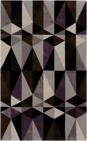 Surya Cosmopolitan COS-9171 Dark Lavender Gray Area Rug