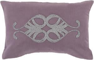 Surya Cairo Pillow Cr-006 Purple