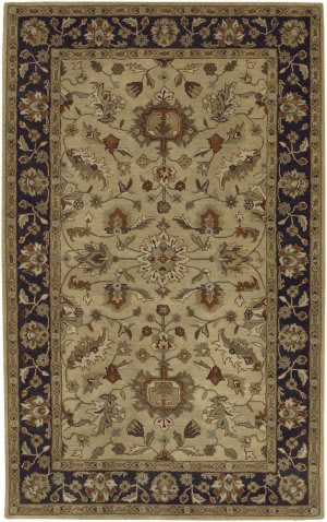 Custom Surya Crowne CRN-6007 Tan Area Rug