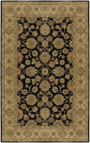 Custom Surya Crowne CRN-6009 Charcoal Area Rug