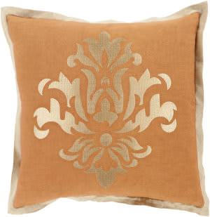Surya Cosette Pillow Ct-006 Orange