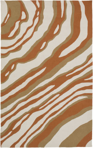 Surya Courtyard Cty-4044 Rust Area Rug