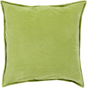 Surya Cotton Velvet Pillow Cv-001 Olive