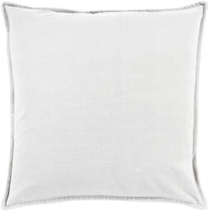Surya Cotton Velvet Pillow Cv-013 Grey