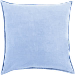 Surya Cotton Velvet Pillow Cv-015 Blue