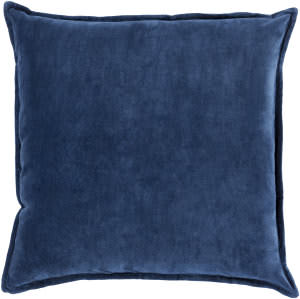 Surya Cotton Velvet Pillow Cv-016 Navy