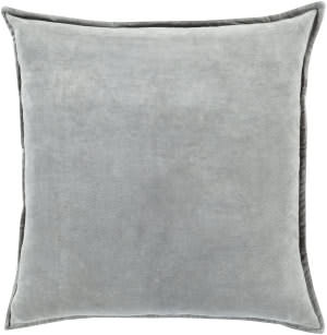 Surya Cotton Velvet Pillow Cv-021 Grey