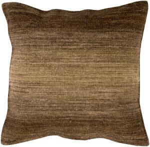 Surya Chaz Pillow Cz-004 Brown