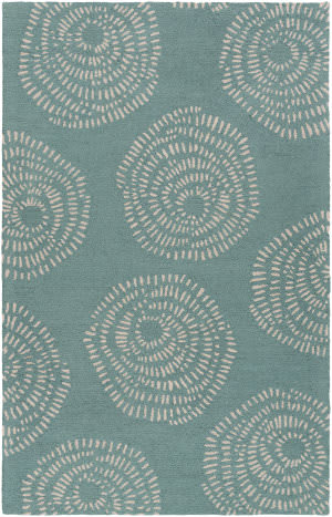 Surya Decorativa Dcr-4010 Teal Area Rug