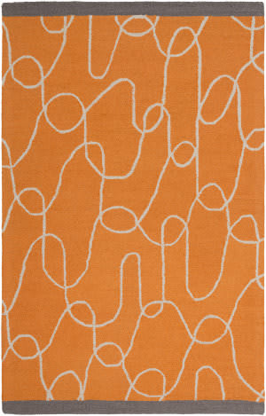 Surya Decorativa Dcr-4022 Burnt Orange Area Rug