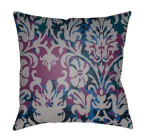 Surya Moody Damask Pillow Dk-002