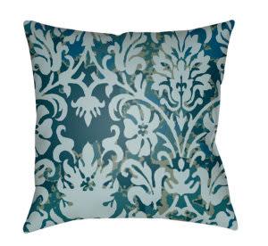 Surya Moody Damask Pillow Dk-003