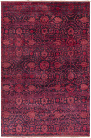 Surya Empress Ems-7014 Burgundy / Purple Area Rug