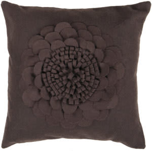 Surya Pillows FA-079 Black