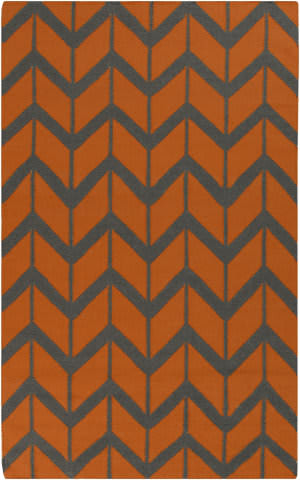 Surya Fallon FAL-1089 Burnt Orange Area Rug