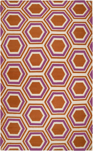 Surya Fallon FAL-1100 Burnt Orange Area Rug
