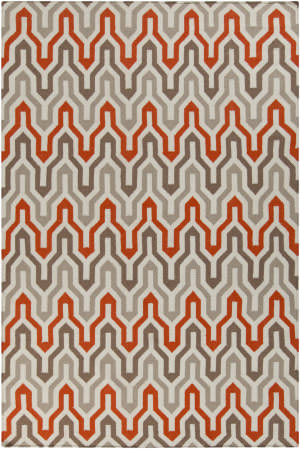 Surya Fallon FAL-1103 Orange-Red Area Rug