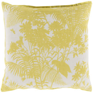 Surya Shadow Floral Pillow Fbs-003