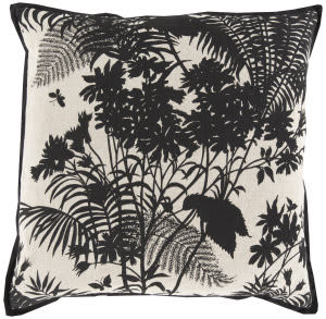 Surya Shadow Floral Pillow Fbs-004