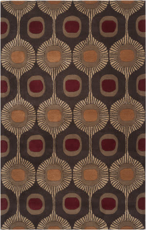 Custom Surya Forum Fm-7170 Dark Chocolate Area Rug