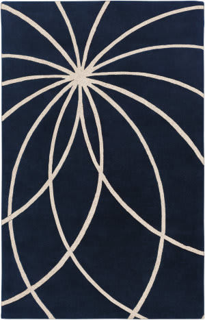 Surya Forum Fm-7186 Dark Blue Area Rug