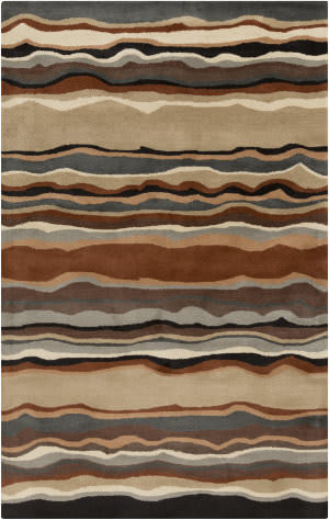 Custom Surya Forum FM-7192 Taupe Area Rug