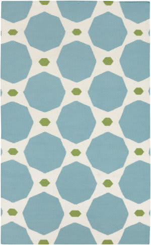 Surya Frontier FT-336 Dark Robin's Egg Blue Area Rug