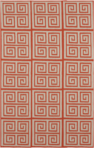Surya Frontier FT-417 Poppy Red Area Rug