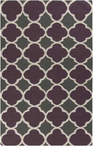 Surya Frontier FT-476 Prune Purple Area Rug