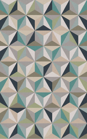 Surya Frontier FT-560 Gray / Blue / Green Area Rug