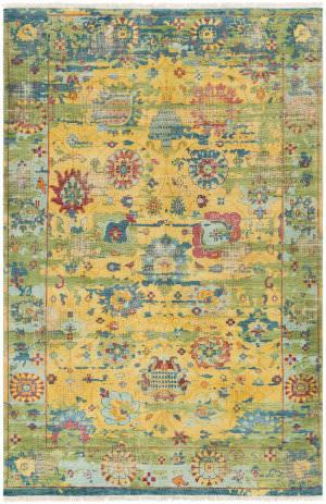 Surya Festival Fvl-1005 Yellow Area Rug