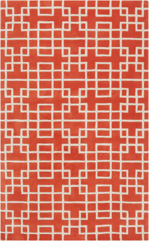 Surya Goa G-5072 Poppy Red Area Rug