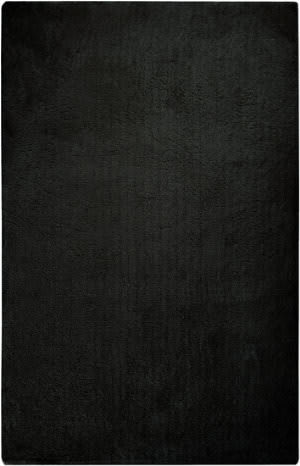 Surya Heaven HEA-8015 Coal Black Area Rug