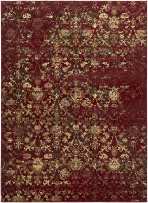 Surya Henre Hee-1005 Dark Red Area Rug