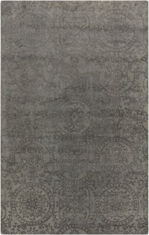 Surya Henna HEN-1001 Gray / Green Area Rug