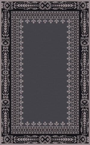 Surya Henna HEN-1009 Slate / Black Area Rug