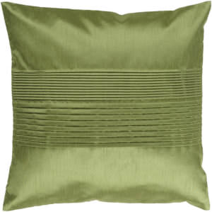 Surya Solid Pleated Pillow Hh-013