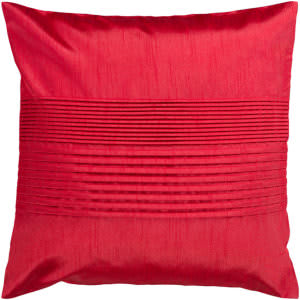 Surya Solid Pleated Pillow Hh-025