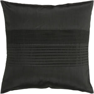 Surya Solid Pleated Pillow Hh-027