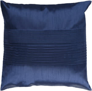 Surya Solid Pleated Pillow Hh-029