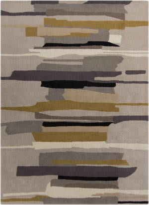 Custom Surya Harlequin Hql-8022 Gray Area Rug