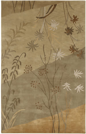 Surya Mugal IN-8056 Tan Beige Area Rug